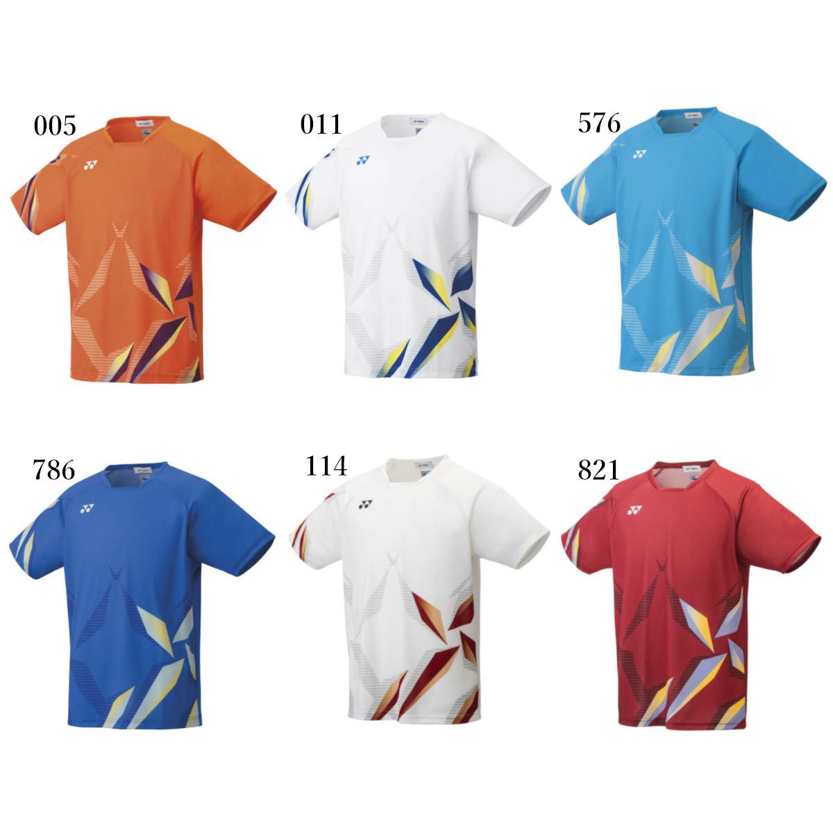 ヨネックス ゲームシャツ(フィットスタイル) 10407 メンズ 2021SS バドミントン テニス ソフトテニス ゆうパケット(メール便)対応