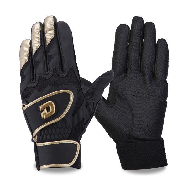 ウィルソン バッティング手袋 ディマリニ ブラック/ゴールド WTABG0304 両手組 ゆうパケット対応 wilson