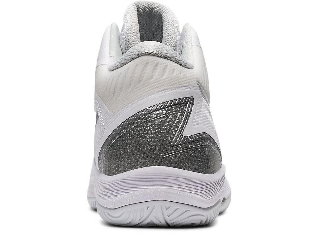 アシックス バスケットボールシューズ ゲルフープV12 ホワイト/ピュアシルバー 1063A021-101 ユニセックス 2020SS 同梱不可 RFCL