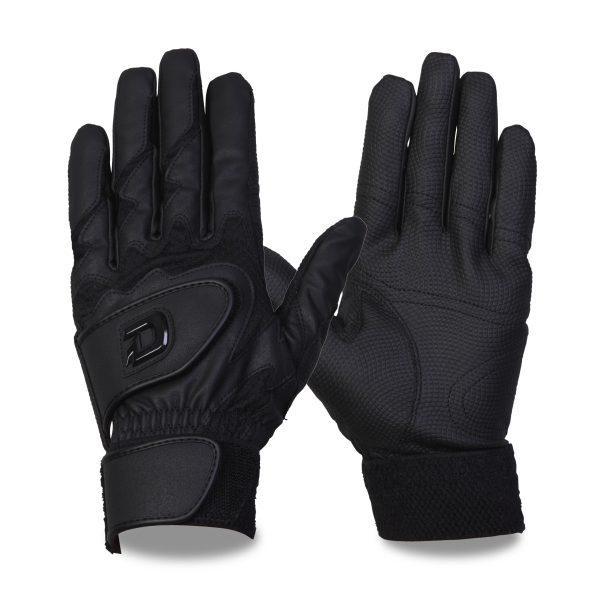 ウィルソン バッティング手袋 ディマリニ 両手組 ブラック WTABG0302  高校野球対応カラー ゆうパケット対応 Wilson