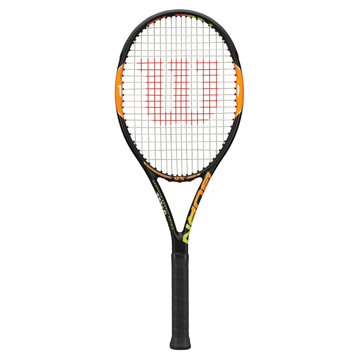 ウイルソンバーン95 BURN95 wrt727120x  テニス ラケット 硬式 Wilson 2015SS 送料無料 当店指定ガットでのガット張り無料!