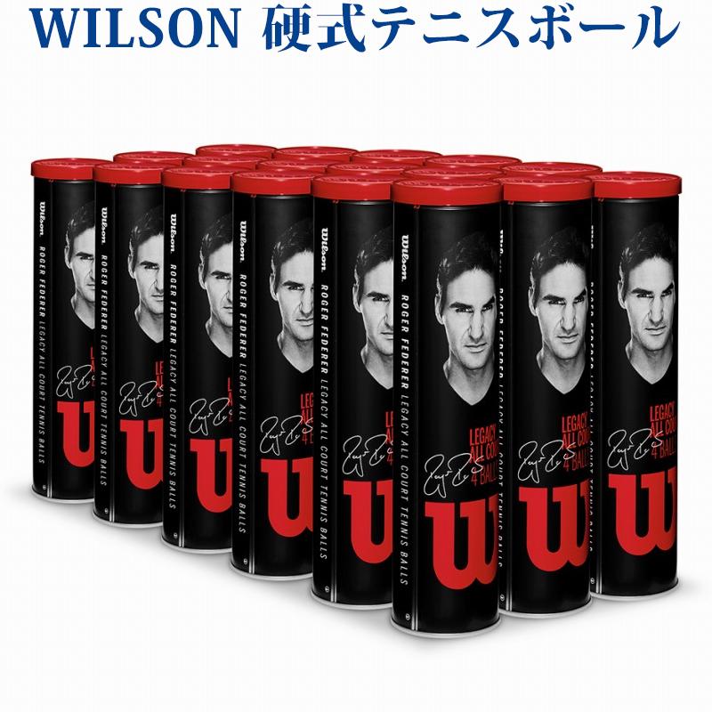 ウイルソン 硬式テニスボール RF レガシーボール 18缶1箱 WRT11990M 2018SS