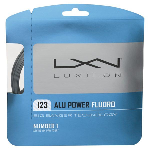 ルキシロン ALU POWER FLUORO 123 アルパワーフローロ123 WRZ999100 硬式テニス テニスガット ストリング ゆうパケット(メール便)対応
