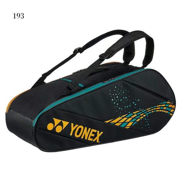 ヨネックス ラケットバッグ6<テニス6本用> BAG2012R 2019AW バドミントン テニス ソフトテニス バッグ ラケット収納