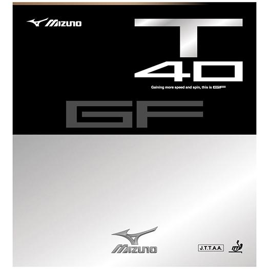 【取寄品】 ミズノ 卓球ラバー GF T40 83JRT540  2018SS 卓球