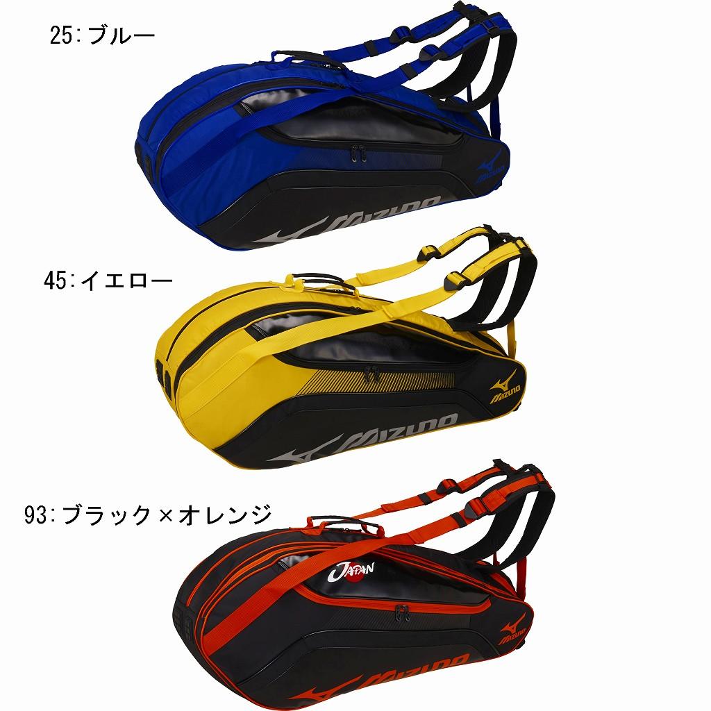 ミズノ ラケットバッグ6本入れ 63JD7002 バドミントン テニス ラケットケース MIZUNO2017SS m2off