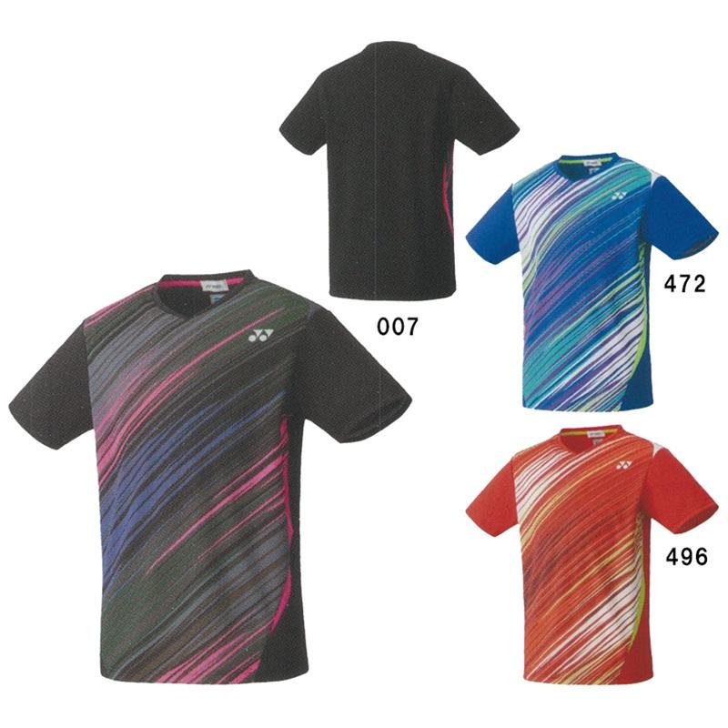ヨネックス ゲームシャツ(フィットスタイル) 10372 ユニセックス 2020AW バドミントン テニス ソフトテニス ゆうパケット(メール便)対応