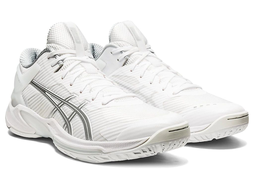 アシックス バスケットボールシューズ ゲルバースト24 LOW ホワイト/ピュアシルバー 1063A027-100 ユニセックス 2020AW 同梱不可 RFCL
