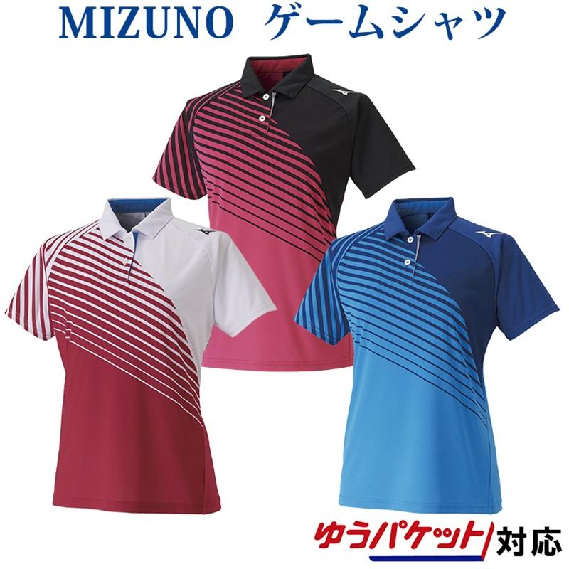 ミズノ ウィメンズゲームシャツ 62JA0213 レディース 2020SS バドミントン テニス ソフトテニス ゆうパケット(メール便)対応 半袖