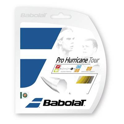 バボラ プロハリケーンツアー 12m BA241102 硬式テニス テニスガット ストリング  Babolat