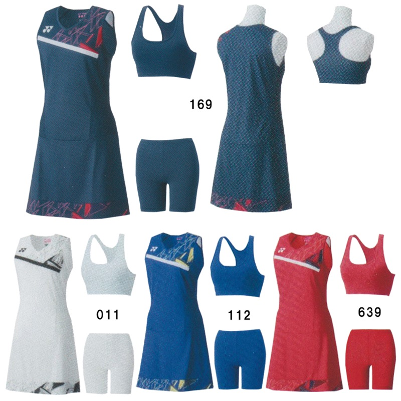 【返品・交換不可】ヨネックス ワンピース(スポーツブラ・インナースパッツ付) 20524Y レディース 2020SS バドミントン テニス