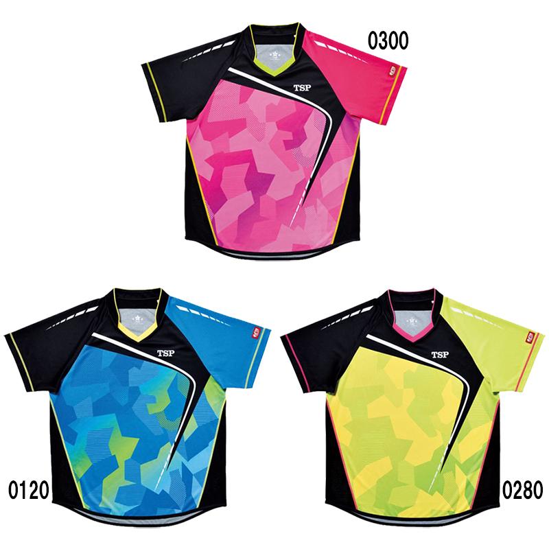 【取寄品】 TSP フォルツァシャツ 031419 ユニセックス 2018SS 卓球 TSP