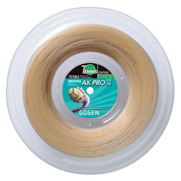 【取寄品】ゴーセンAK PRO 16 ロール TS7062硬式テニス ストリング ロールガット 1.31mmGOSEN 送料無料