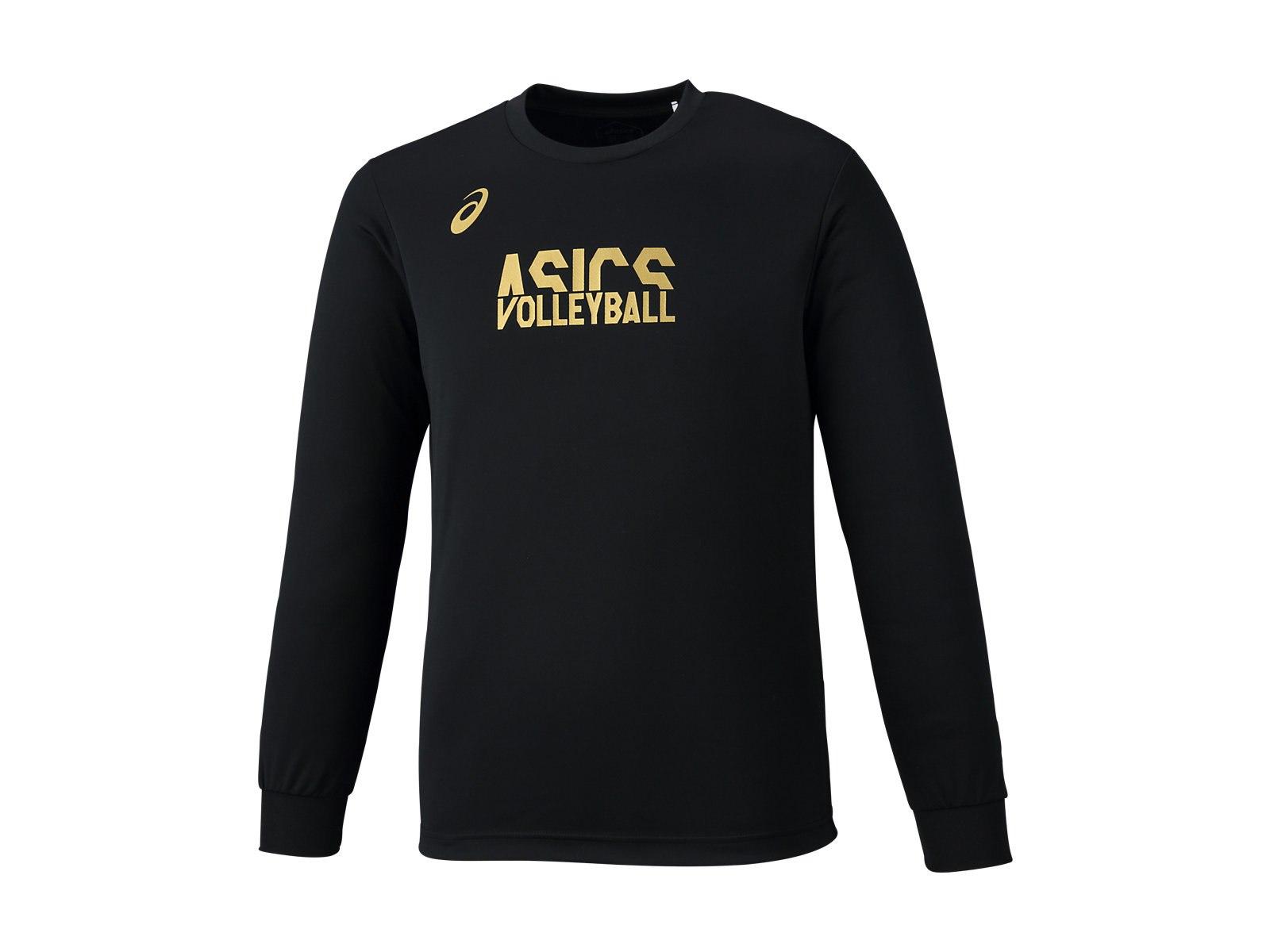 アシックス ロングスリーブ トップ 2053A005 メンズ ジュニア 2018AW バレーボール 2018秋冬 ゆうパケット(メール便)対応