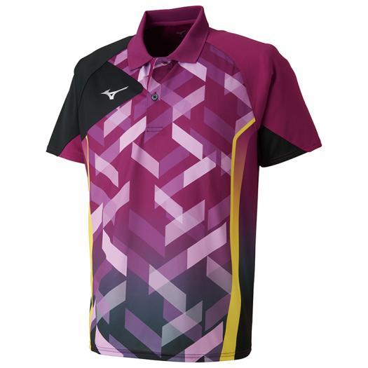 【取寄品】 ミズノ ゲームシャツ 82JA8010 ユニセックス 2018SS 卓球