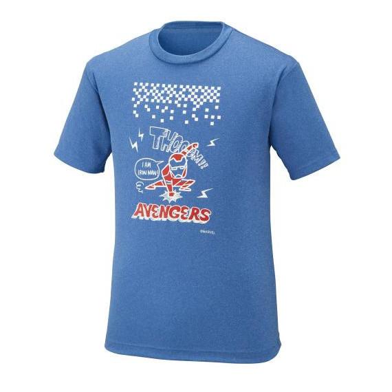 ミズノ MARVEL Tシャツ 72JA9Z56 メンズ ユニセックス ジュニア 2019AW バドミントン ゆうパケット(メール便)対応