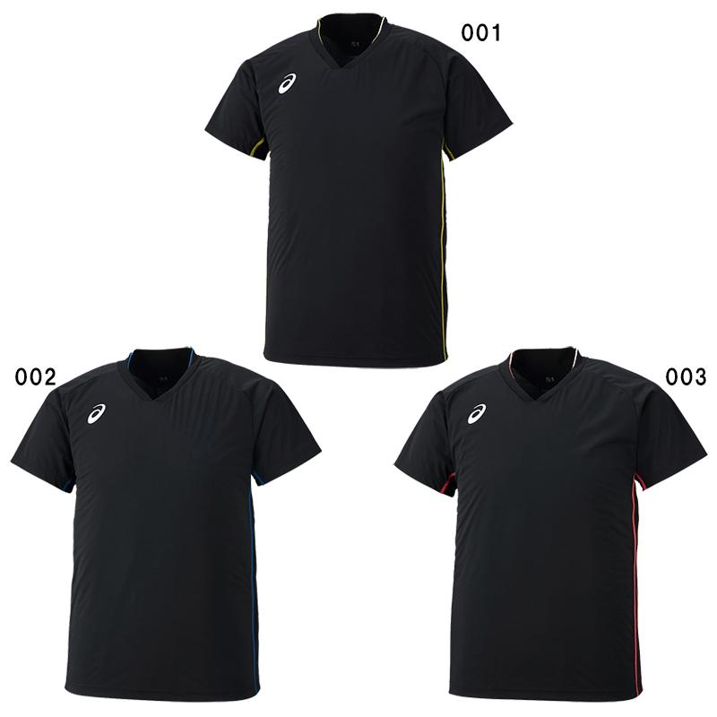 アシックス ウオームアップ シャツ 2051A005 メンズ 2018AW バレーボール ゆうパケット(メール便)対応 2018秋冬