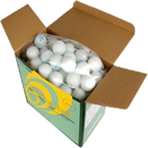 【取寄品】ショウワ 卓球 セルロイド製トレーニングボール 10ダース 1箱 1S40-10