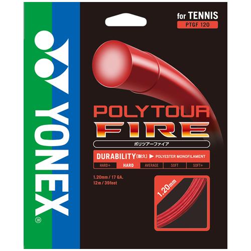 【取寄品】 ヨネックスポリツアーファイア120 ロール 240mPTF120-2 テニス ガット ストリングス ロールYONEX 2015AW 送料無料
