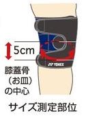 ヨネックス マッスルパワーサポーター 膝用 MPS-80SK ゆうパケット(メール便)対応