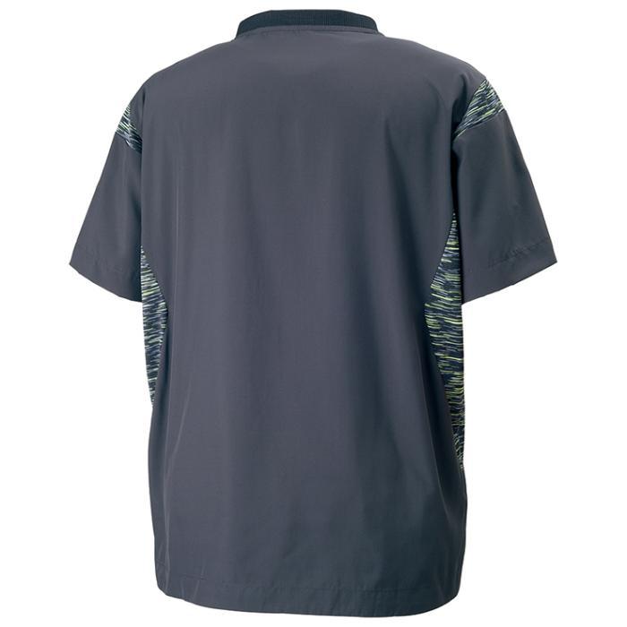 ミズノ ブレーカーシャツ V2ME7501 バレーボール ピステ 半袖メンズ ユニセックス 男女兼用mizuno 2017AW m2off ゆうパケット(メール便)対応