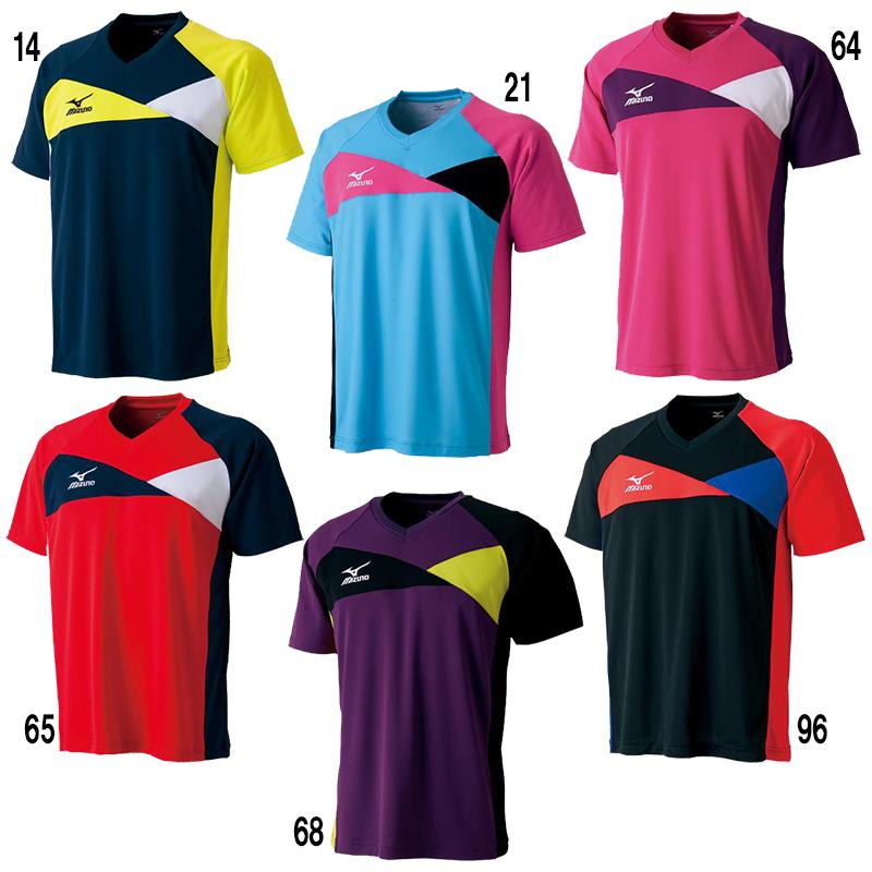 【取寄品】 ミズノ ドライサイエンスゲームシャツ 82JA5500 ユニセックス 2018SS 卓球