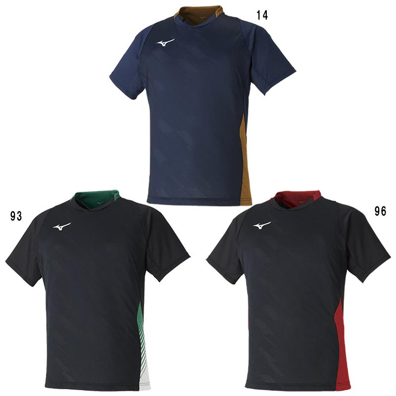 ミズノ ゲームシャツ 72MA0001 メンズ ユニセックス 2020SS バドミントン テニス ソフトテニス ゆうパケット(メール便)対応 2020最新 2020春夏