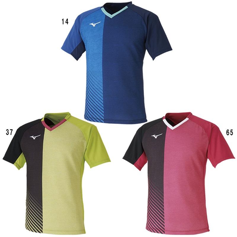 ミズノ 卓球 ゲームシャツ 82JA0011 ユニセックス 2020SS