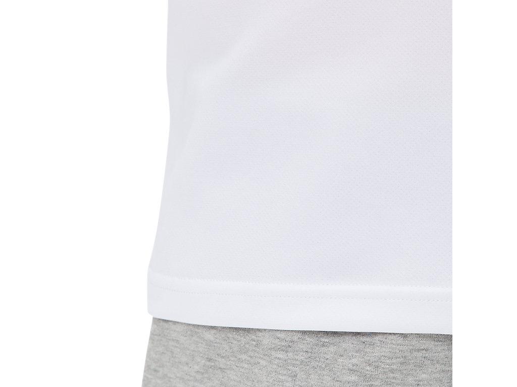 アシックス Tシャツ Jr.クールショートスリーブトップ 2054A007 ジュニア 2019SS バレーボール ゆうパケット(メール便)対応 2019最新 2019春夏