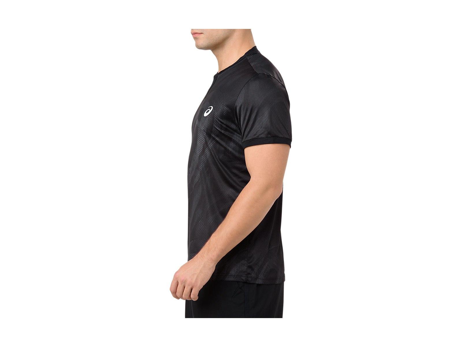 アシックス Tシャツ グラフィックショートスリーブトップ 2041A027 メンズ 2018AW テニス ソフトテニス ゆうパケット(メール便)対応 2018新製品 2018秋冬