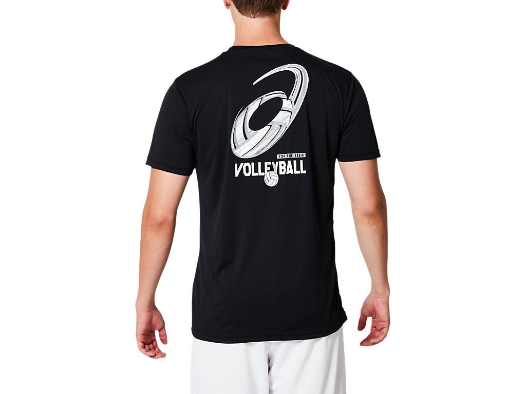 アシックス Tシャツ ショートスリーブトップ 2053A047 メンズ 2019SS バレーボール ゆうパケット(メール便)対応 2019最新 2019春夏 アウトレット