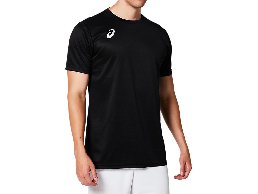アシックス Tシャツ ショートスリーブトップ 2053A046 メンズ 2019SS バレーボール ゆうパケット(メール便)対応 2019最新 2019春夏 アウトレット