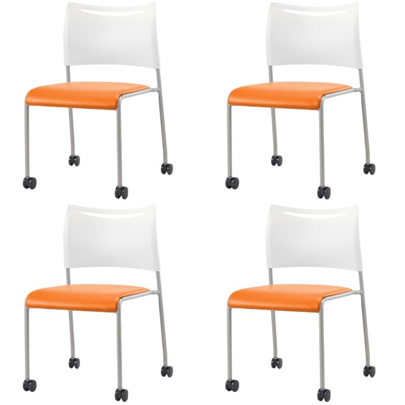 ミーティングチェア スタッキングチェア 会議用椅子 | 【4脚セット】 I-LTS-4C-V