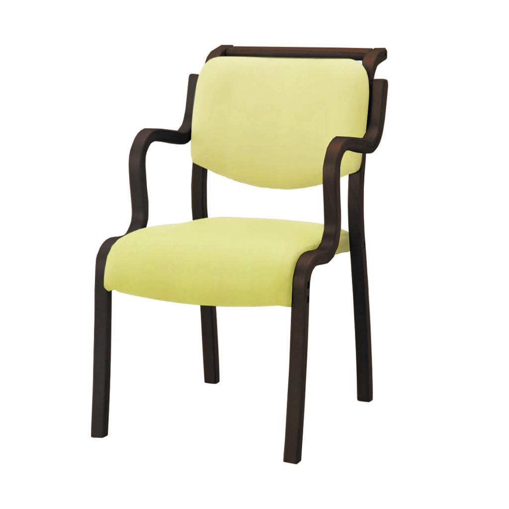 福祉椅子 介護椅子 ハーフ肘 ダーク テンダー   I-テンダーHG-HD