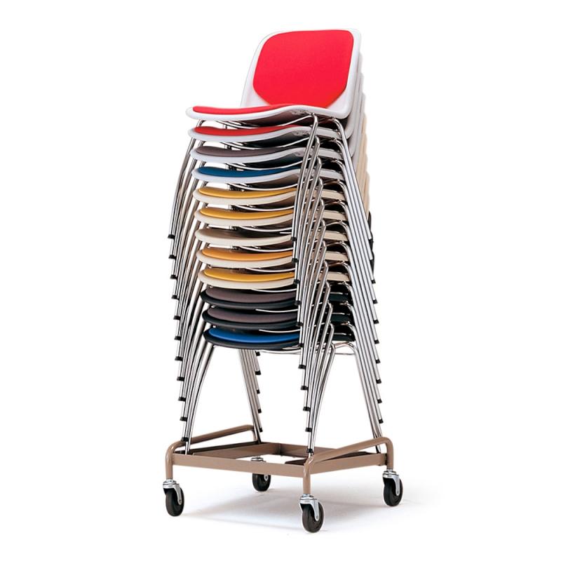ミーティングチェア 専用台車 学校教育用椅子 | I-XA1095