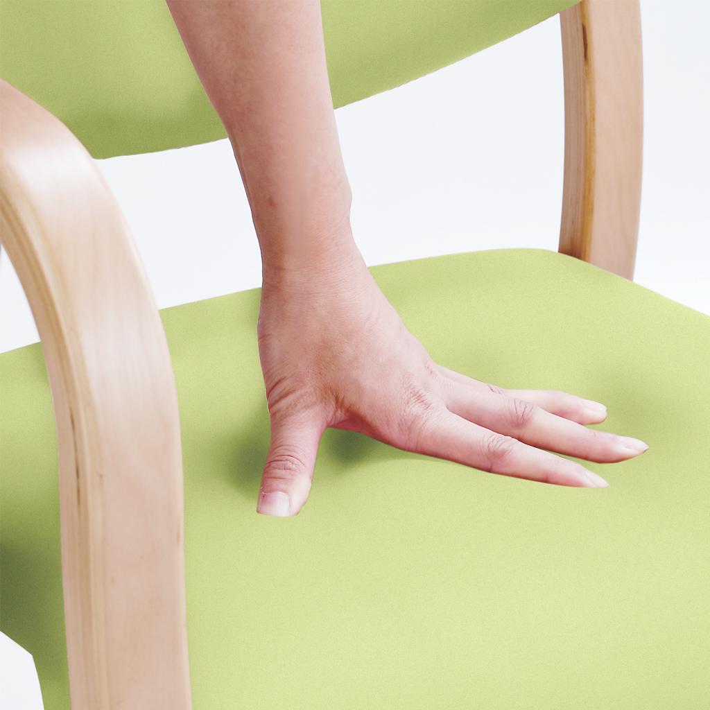 福祉椅子 介護椅子 肘なし ダーク テンダー   I-テンダーHG-ND