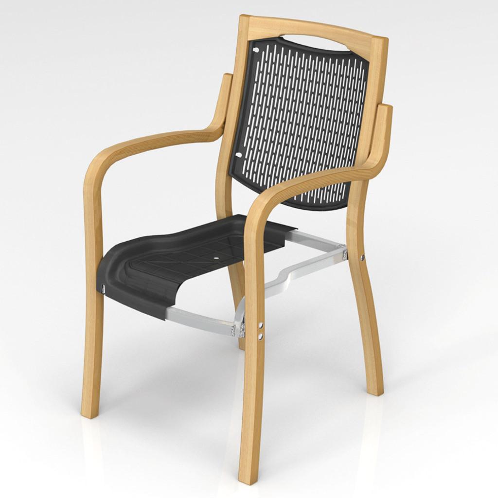 福祉椅子 介護椅子 肘付き ナチュラル フィーノ | I-フィーノHG-FN