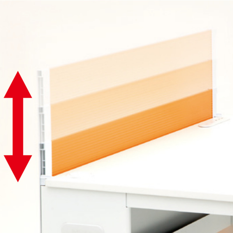 オフィスデスク 事務机 平机 W1000 D700 H700 カラーパネル付き | I-CPD-1070