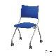 ミーティングチェア スタッキングチェア 会議用椅子 | 【4脚セット】 I-LTS-4NP-F