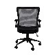 オフィスチェア デスクチェア 事務椅子 肘付き ミドルバック メッシュ AIRチェア | I-OFC-07