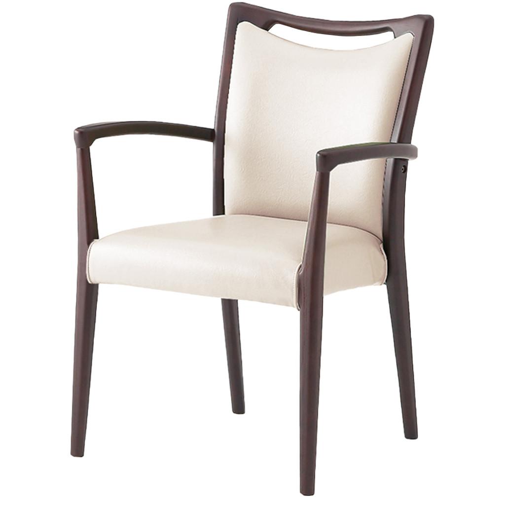 福祉椅子 介護椅子 肘付き コンパクト ダーク エレン | I-エレンSD