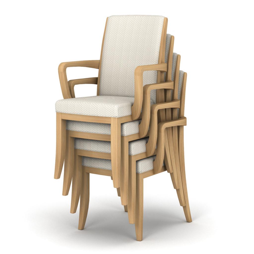 福祉椅子 介護椅子 肘付き ナチュラル | I-レリスタ RST