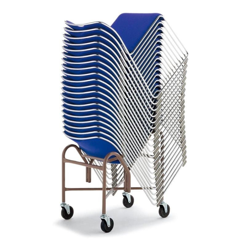 ミーティングチェア 専用台車 会議用椅子 | I-XA1635