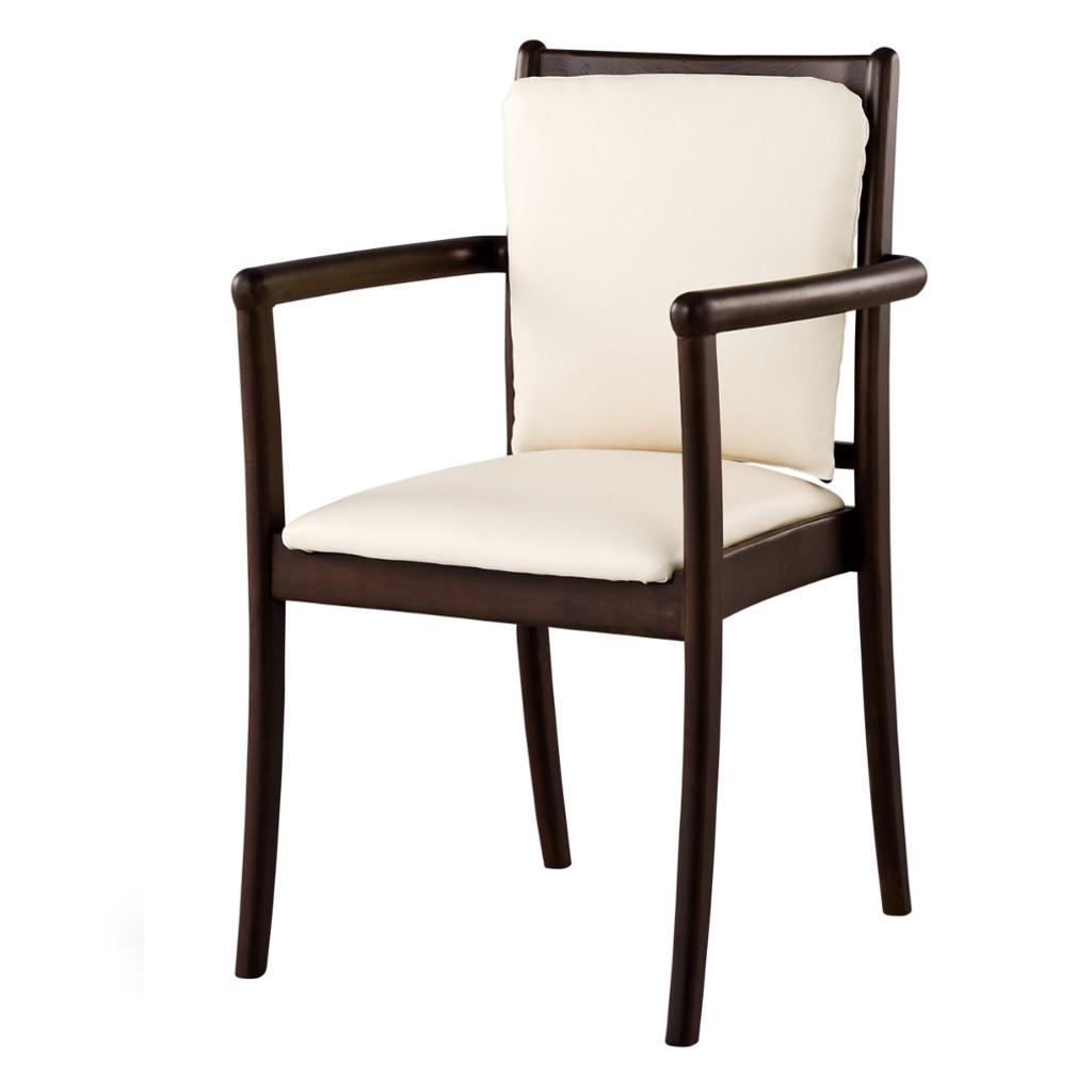 福祉椅子 介護椅子 肘付き ナチュラル | I-レンシー REDC