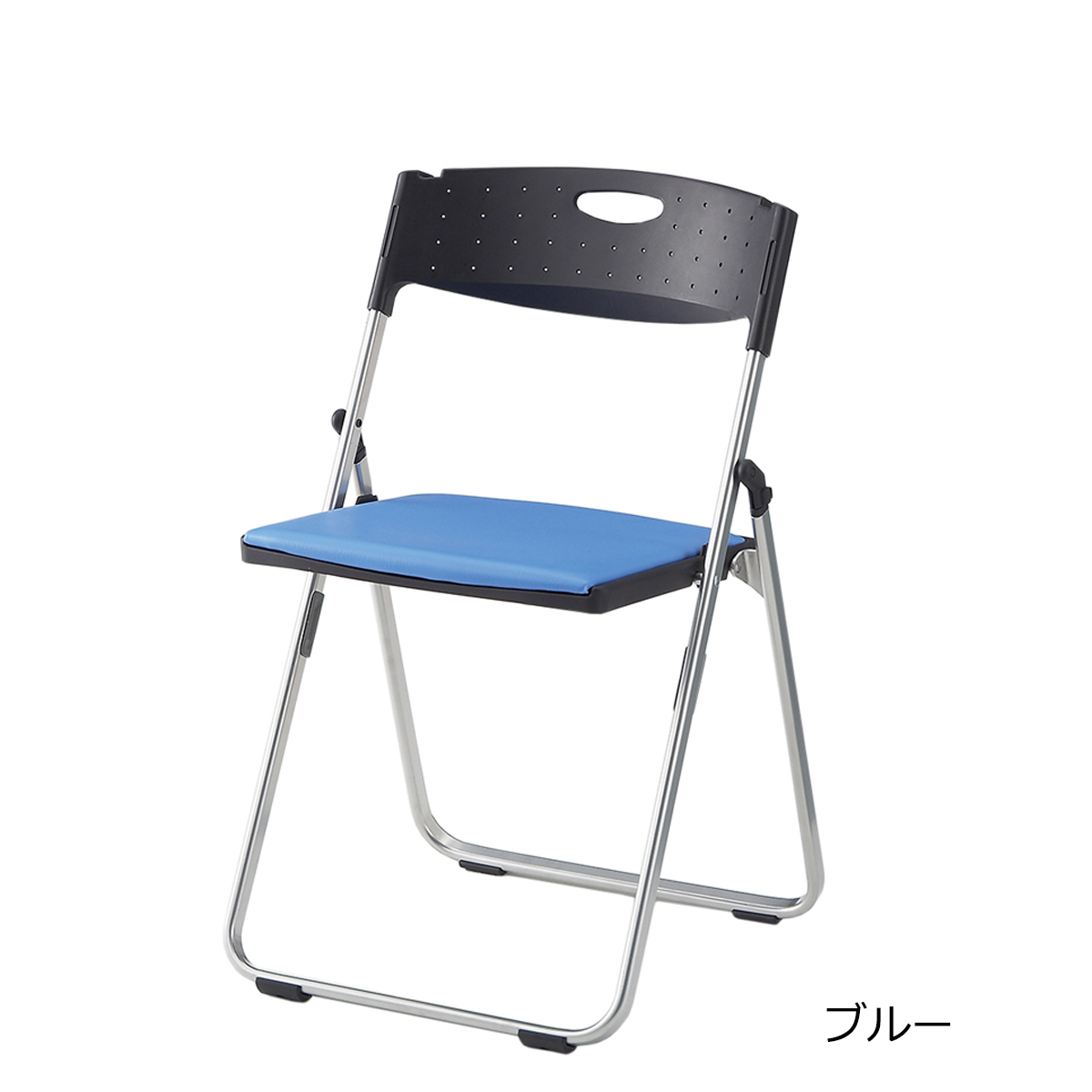 折りたたみ椅子 パイプ椅子 軽量 4.3kg コンパクト スチール脚 | 【5脚セット】 I-CAL-XS02S-V