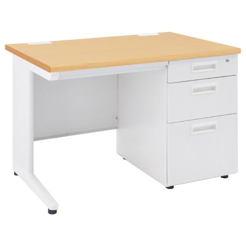 オフィスデスク 事務机 片袖机 W1000 D700 H700 | I-OFD-107