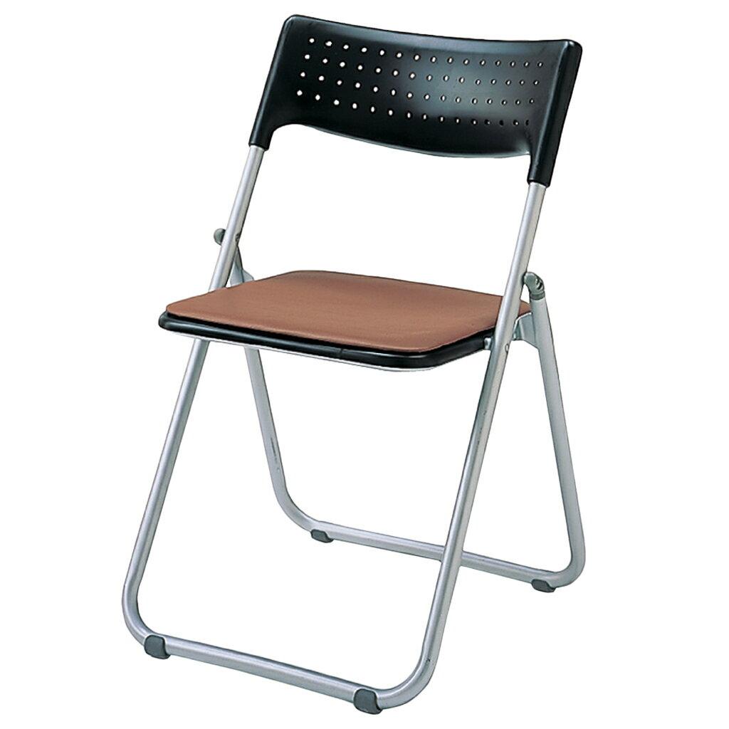 折りたたみ椅子 パイプ椅子 軽量 3.9kg スチール脚   I-SS-S139N