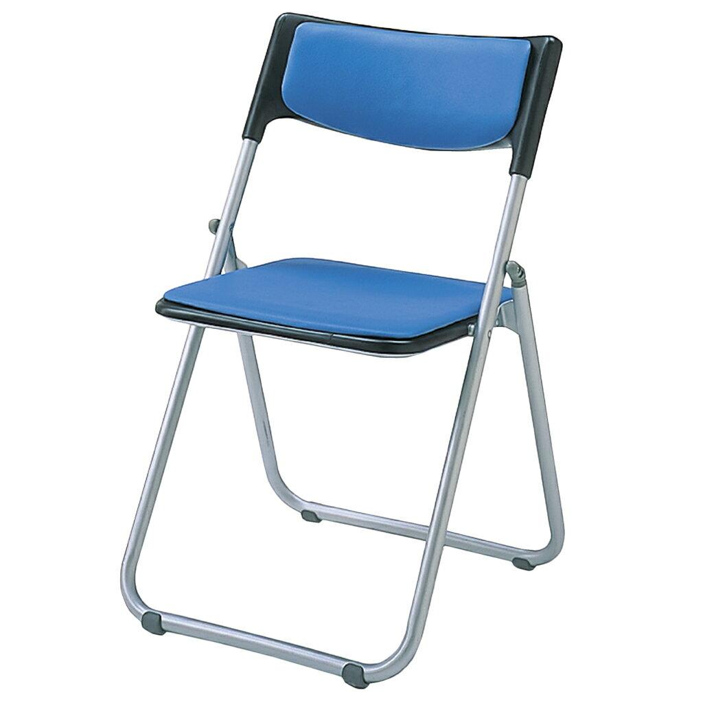 折りたたみ椅子 パイプ椅子 軽量 4.0kg スチール脚   【5脚セット】 I-SS-S239N