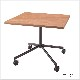 木製テーブル キャスター脚 W900 D900 H720 | I-ESC-CR-B