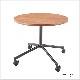 木製テーブル キャスター脚 丸 900φ | I-ESC−CS-B